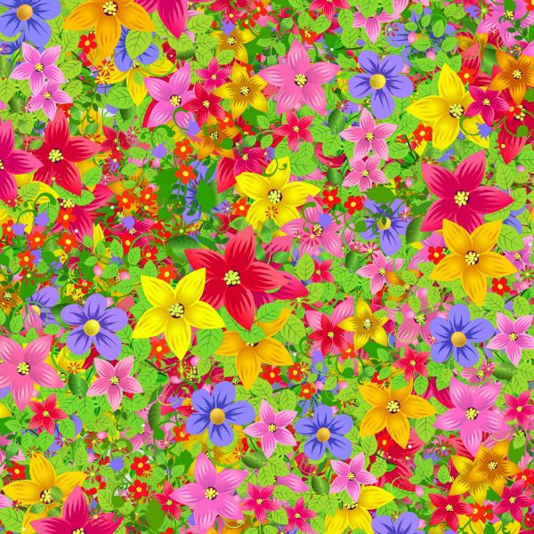 Cartoon Flowers 24