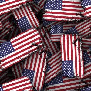 US Grunge Flag 22