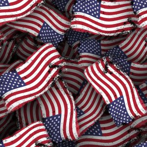 US Grunge Flag 23